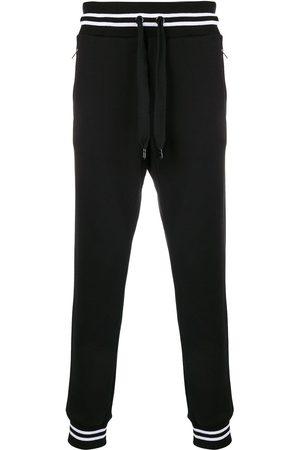 Dolce & Gabbana Mænd Joggingbukser - Striped rib track trousers