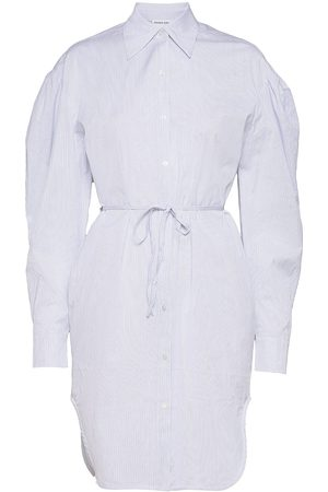 Designers Remix Umbria Shirt Dress Knælang Kjole Blå
