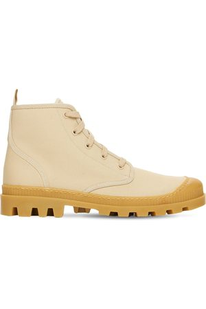 GIA Kvinder Casual sko - 20mm Cotton Canvas Combat Boots