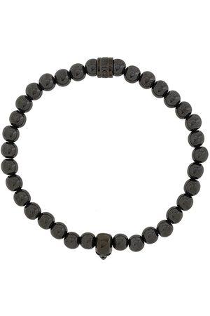 NORTHSKULL Atticus armbånd med dødningehoved og perler
