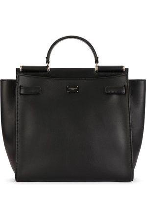 Dolce & Gabbana Håndtaske med logoplade