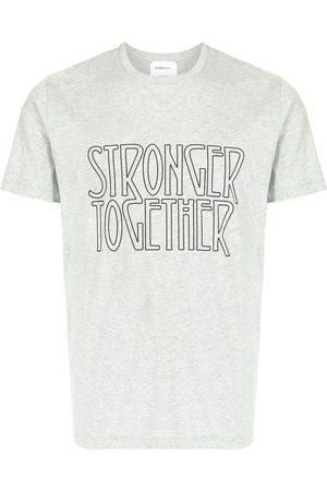 Ports V T-shirt med stronger together-print