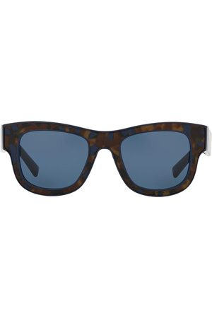Dolce & Gabbana Firkantede solbriller med skildpaddeeffekt