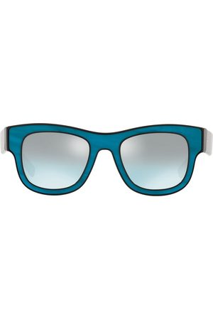 Dolce & Gabbana Mænd Solbriller - Solbriller med firkantet stel og spejlglas