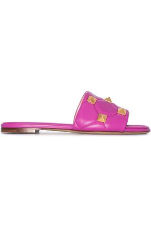 VALENTINO GARAVANI Flade Roman sandaler med nitter