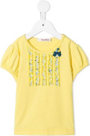 Familiar T-shirt med sløjfe-detalje