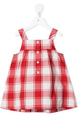Familiar Baby Kjoler - ærmeløs kjole med ternet mønster
