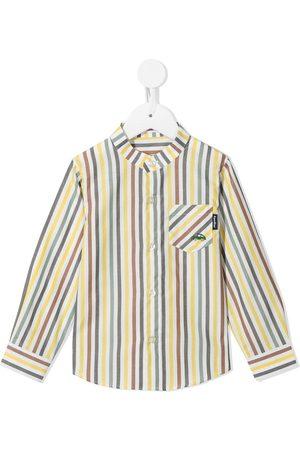 Familiar Langærmet skjorte med striber