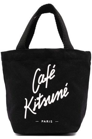 Maison Kitsuné Tote med logotryk