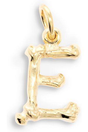 The Great Frog Alphabones 'E'-vedhæng i 18 karat guld