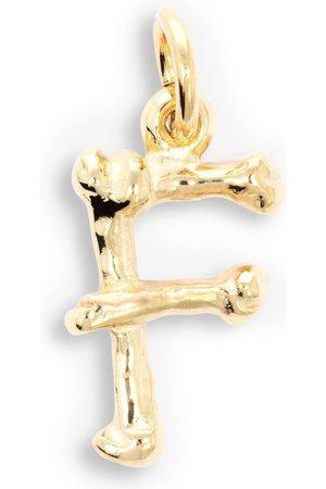 The Great Frog Alphabones 'F'-vedhæng i 18 karat guld
