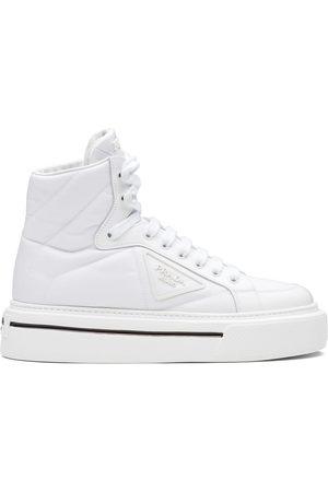 Prada High-top sneakers med snøre