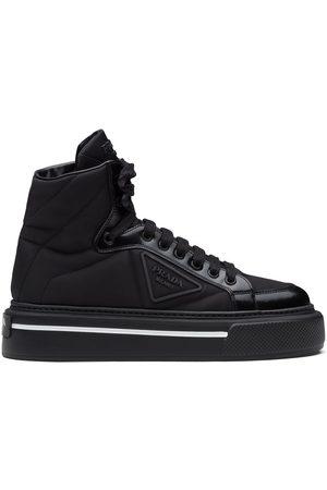 Prada High-top sneakers med tonet panel