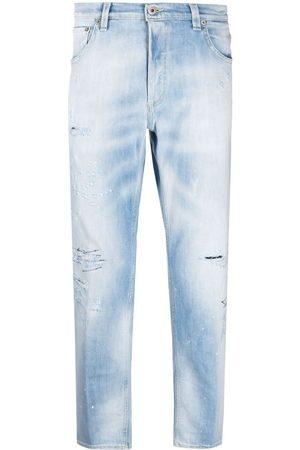 Dondup Jeans med slitageeffekt og mellemhøj talje
