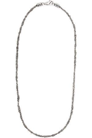 EMANUELE BICOCCHI Halskæde med hæklet kæde