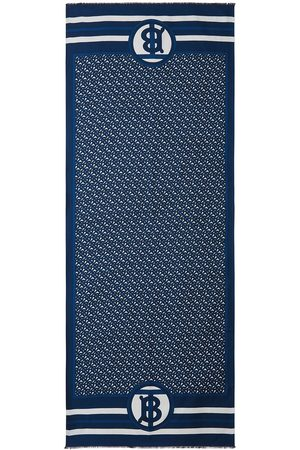Burberry Vendbart tørklæde med monogramtryk