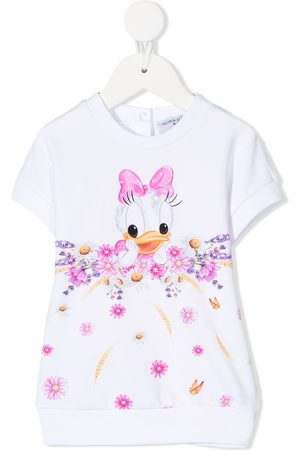 MONNALISA Daisy Duck sweatshirtkjole