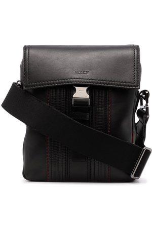 Bally Messenger-taske med kontrastsøm og spænde