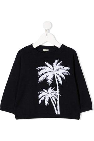 Il gufo Sweatshirt med palmetræ-tryk