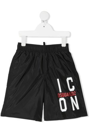 Dsquared2 Badeshorts med Icon-tryk