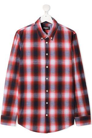 Dsquared2 TEEN ternet skjorte