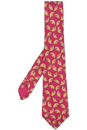 Hermès Pre-owned slips med Fenix print fra 00'erne