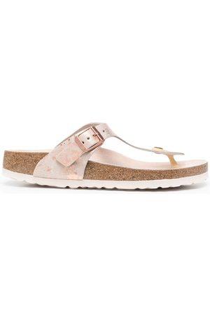 Birkenstock Sandaler med marmoreffekt