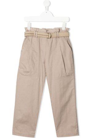 Brunello Cucinelli Chino-bukser med paperbag-talje