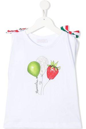 MONNALISA ærmeløs top med ballon-tryk