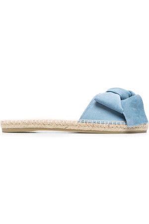 MANEBI Flade sandaler med sløjfedetalje