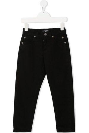 Balmain Straight-leg cotton jeans