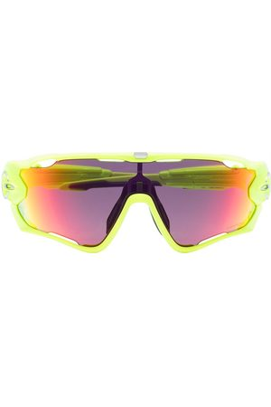Oakley Yellow Jawbreaker Retina Burn Prizm Road sunglasses