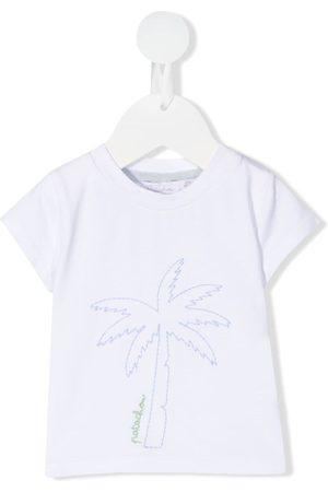 PATACHOU Baby Kortærmede - Embroidered palm tree T-shirt