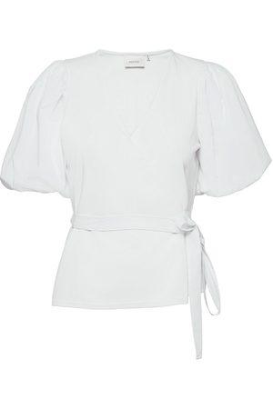 Gestuz Nemagz Wrap Blouse Blouses Short-sleeved