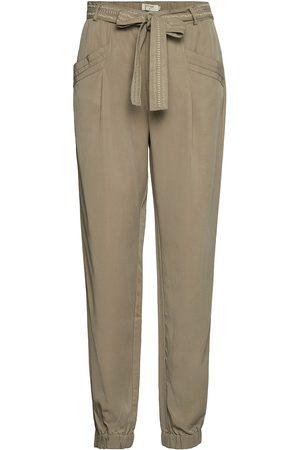 Cream Croda Pants Casual Bukser Grøn