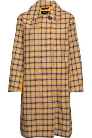 Didriksons Embla Ch Wns Coat Tynd Frakke Multi/mønstret