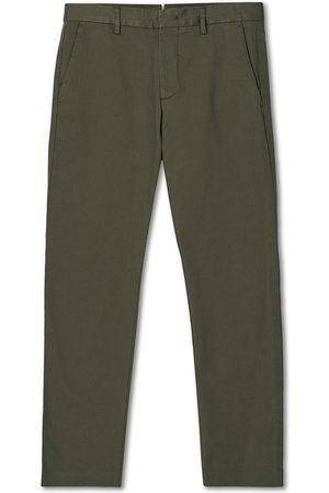 NN.07 Mænd Chinos - Theo Regular Fit Stretch Chinos Army Green