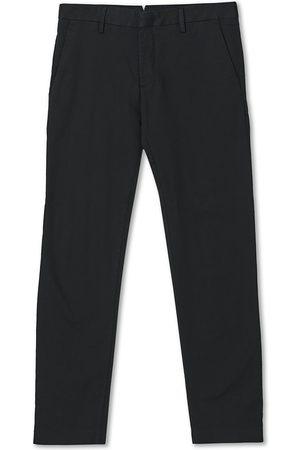 NN.07 Mænd Chinos - Theo Regular Fit Stretch Chinos Black