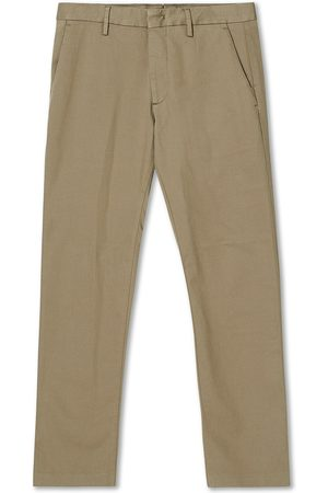 NN.07 Mænd Chinos - Theo Regular Fit Stretch Chinos Green Stone
