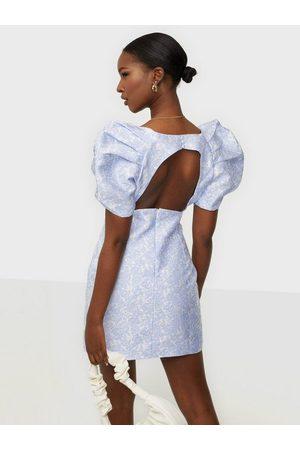 Bardot Kvinder Casual kjoler - Floral Puff Sleeve Skater kjoler
