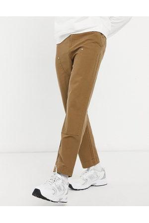 ASOS Brune skater-bukser med påsyede paneler