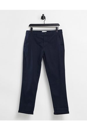 ASOS Navy smalle chinos fra -Marineblå