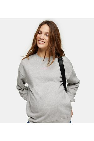 "Topshop Sweatshirt med ""motherhood""-tekst"