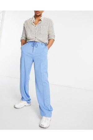 ASOS Elegante bukser med vide ben og snøre i taljen i