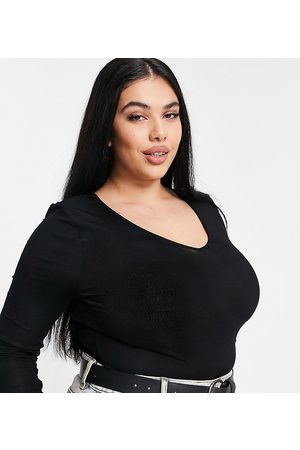 River Island Langærmet bodystocking i