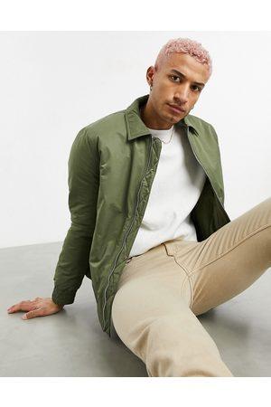 ASOS Vatteret harrington-jakke i kakigrøn