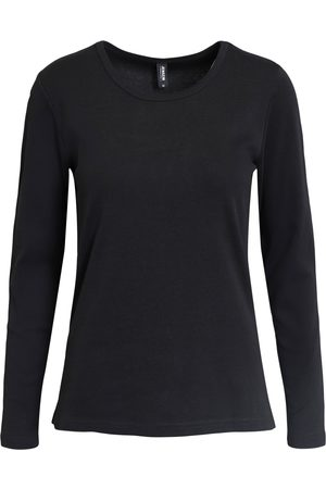 Jensen Kvinder Langærmede - T-shirt langærmet - Black - S