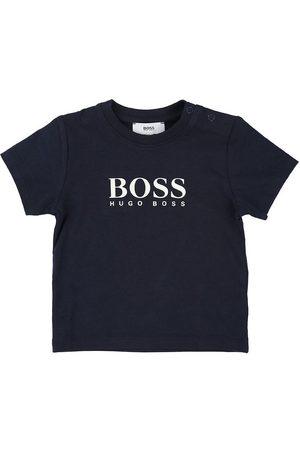 BOSS T-shirt - Navy m. Logo