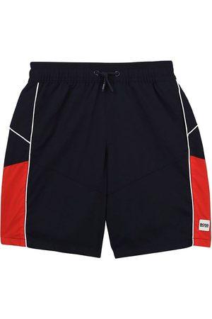 HUGO BOSS Badeshorts - Badeshorts - Athleisure - Navy/