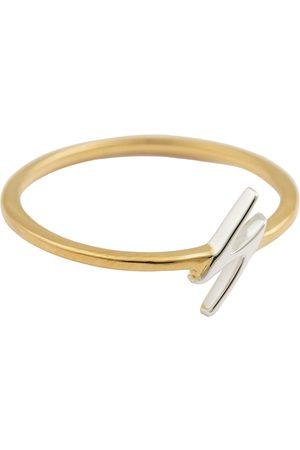 syster P Kvinder Ringe - Snap Ring Flash Gold Ring Smykker